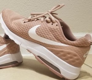 Nike blush pink running sneakers